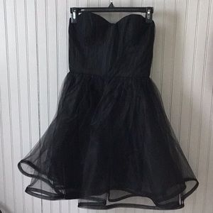Alice & Olivia black dress